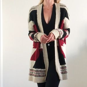 Mid Length Tribal Sweater